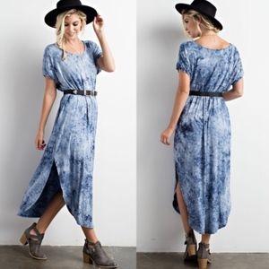 DORY Tie Dye Maxi Dress
